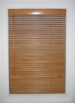 Lovely 1 Inch Faux Wood Blinds