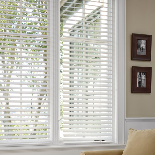 Simple 2 Faux Wood Blinds