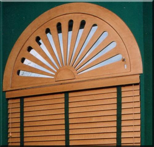 Unique Arch Window Blinds