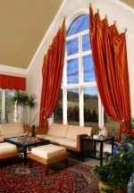 Divine Arched Window Treatments