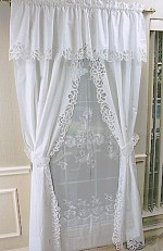 Great Battenburg Lace Curtains