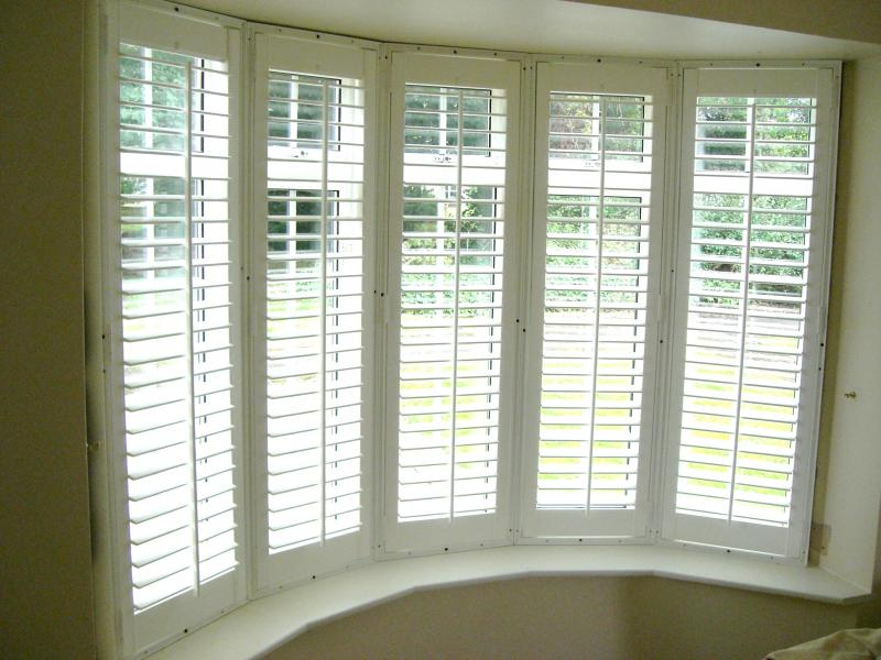Awesome Bay Window Blinds
