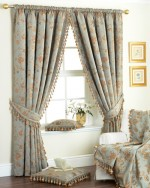 Flowery Bedroom Curtains And Drapes