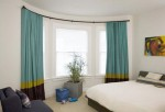 Lovely Bedroom Window Curtains