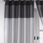 Splendid Black And Silver Curtains