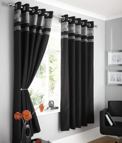 Sightly Black Curtains 2016