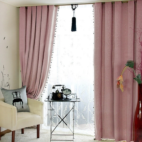 Statuesque Black Out Curtains