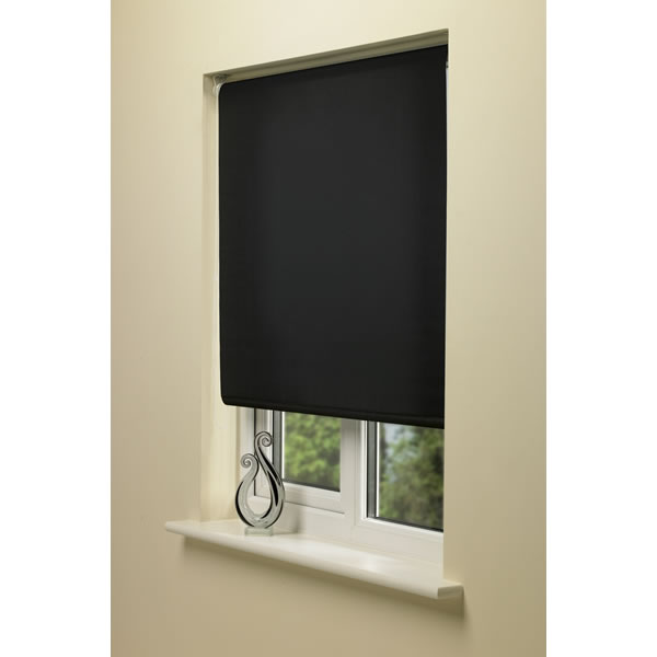 Black Blackout Blinds