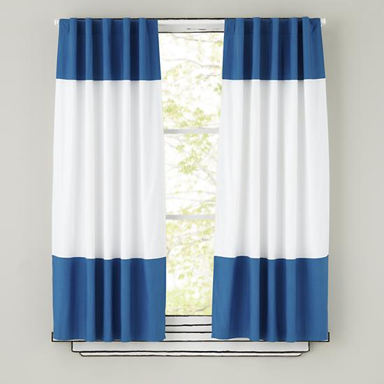 Blue And White Curtains 2016
