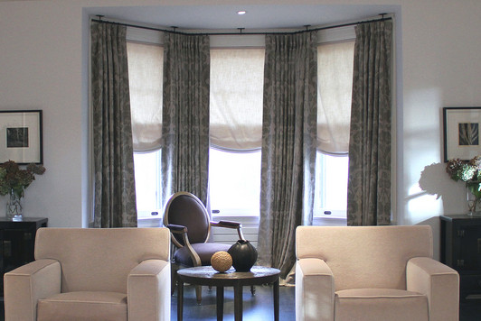 Appealing Corner Curtain Rod