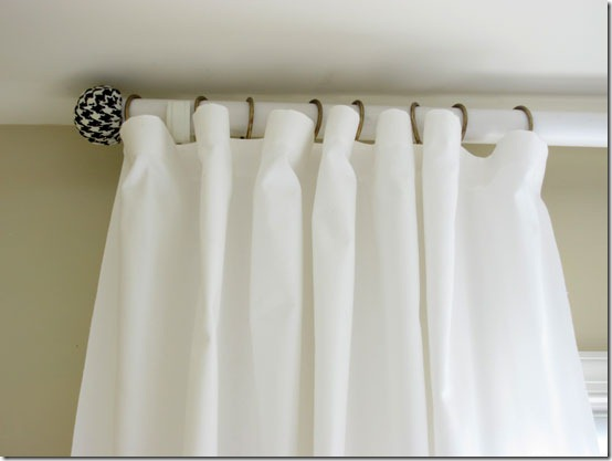 Simple Curtain Rods