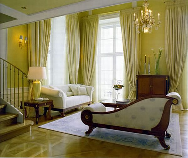 Green Curtains And Window Treatments