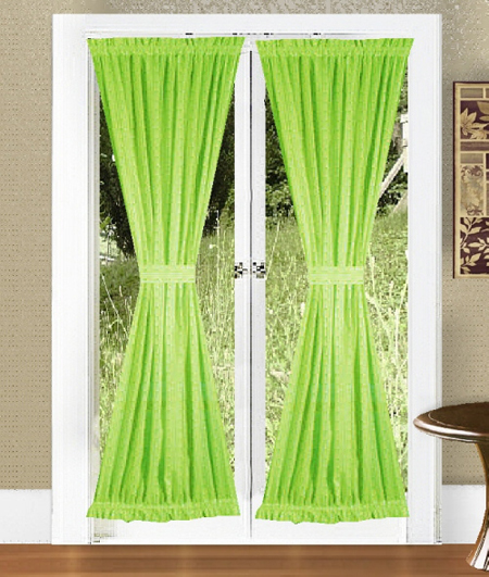 Bright Curtains For Doors