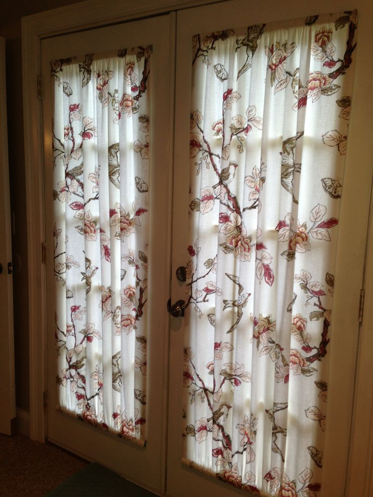 French Door Curtain Panels : Good looking curtains for french doors