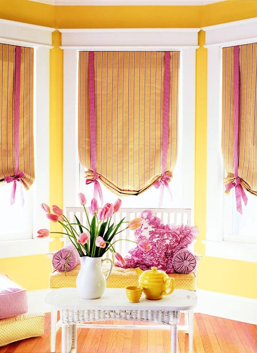Colourful Decorative Window Shades