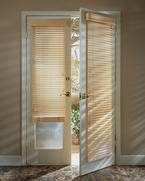 Simple Door Blinds