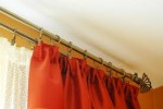 Awesome Double Curtain Rod