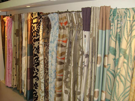 Colorful Fabric For Curtains