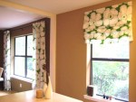 Beautiful Fabric Roman Shades