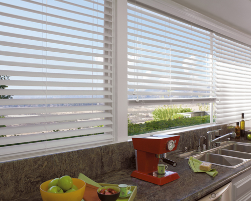 Simple Faux Blinds