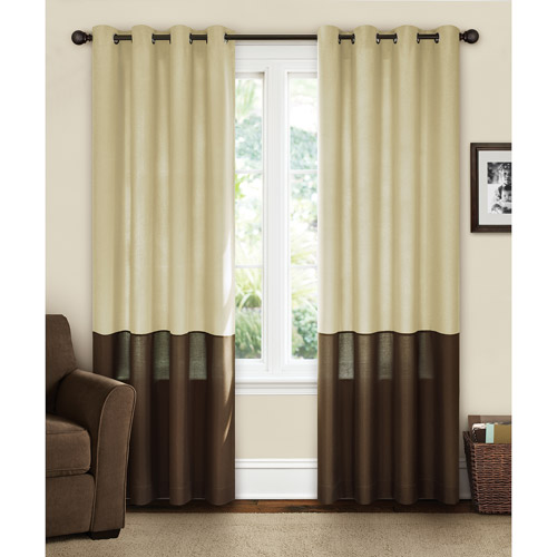 Refined Grommet Curtain Panels