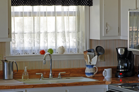 Simple Modern Kitchen Curtains