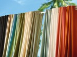 Colorful Outdoor Curtain Panels