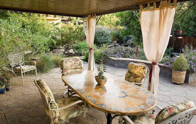 Classy Outdoor Patio Curtains 2016