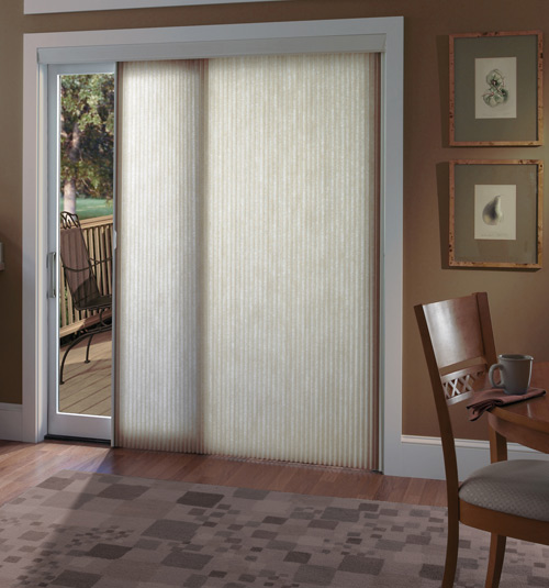 Beautiful Patio Door Blinds