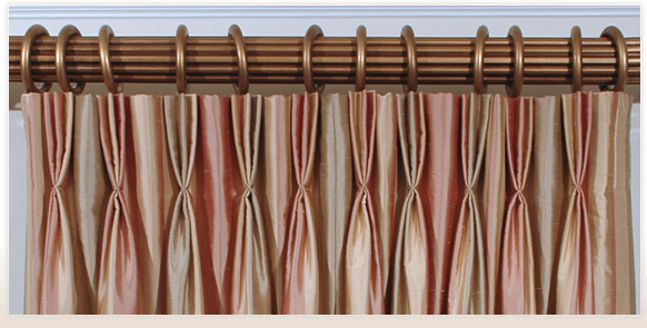 Comely Pinch Pleat Curtains