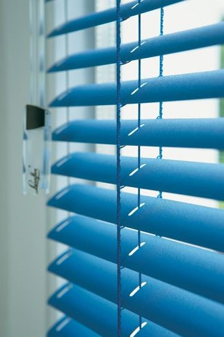 Blue Pvc Venetian Blinds