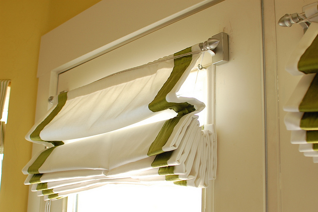 Unique Roman Shades For French Doors