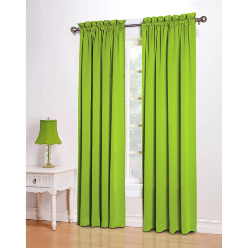 Cool Green Room Darkening Curtains