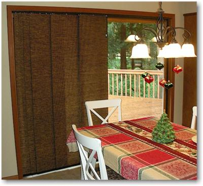 Alluring Sliding Panel Blinds