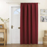 Maroon Thermal Curtain Lining