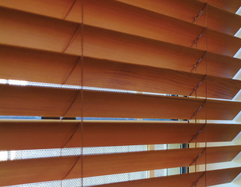 Exquisite Timber Venetian Blinds