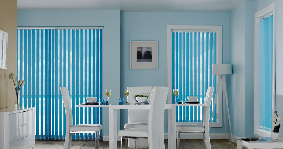 Blue Vertical Blinds Direct
