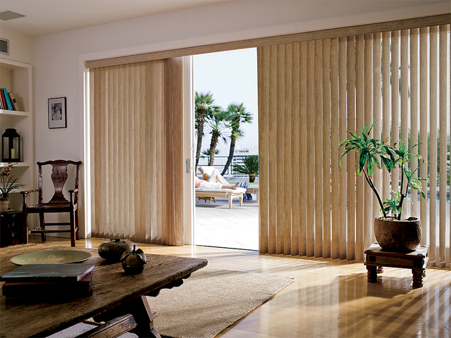 Radiant Vertical Blinds For Sliding Glass Doors