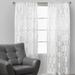 Lovely White Cotton Curtains