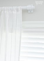 Admirable White Curtain Rods
