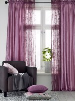 Purple Window Curtain Ideas