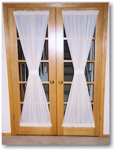 Fair Window Treatments For French Doors