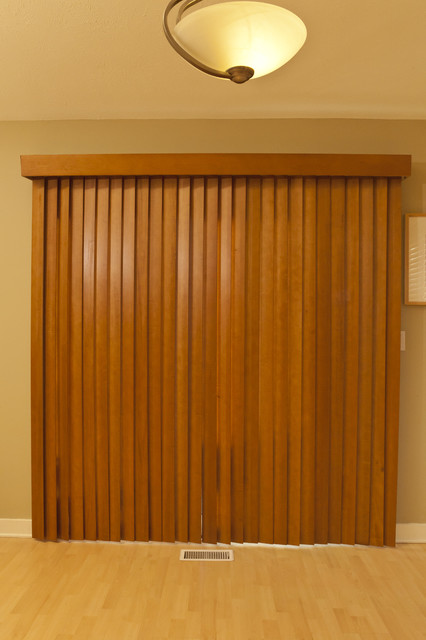 Simple Wood Window Blinds