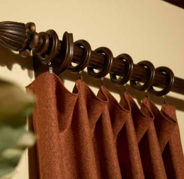 Lasting Wooden Curtain Rods