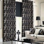 Creative Black And White Curtains