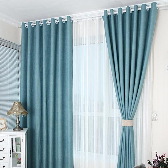 Peaceful Ocean Blue Curtains