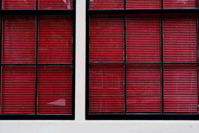 Red Cheap Blinds