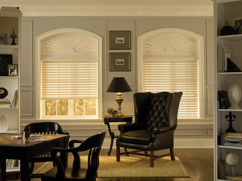 Faux Wood Custom Blinds