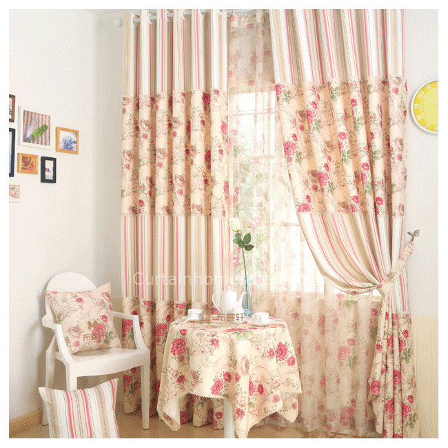 Floral Discount Curtains