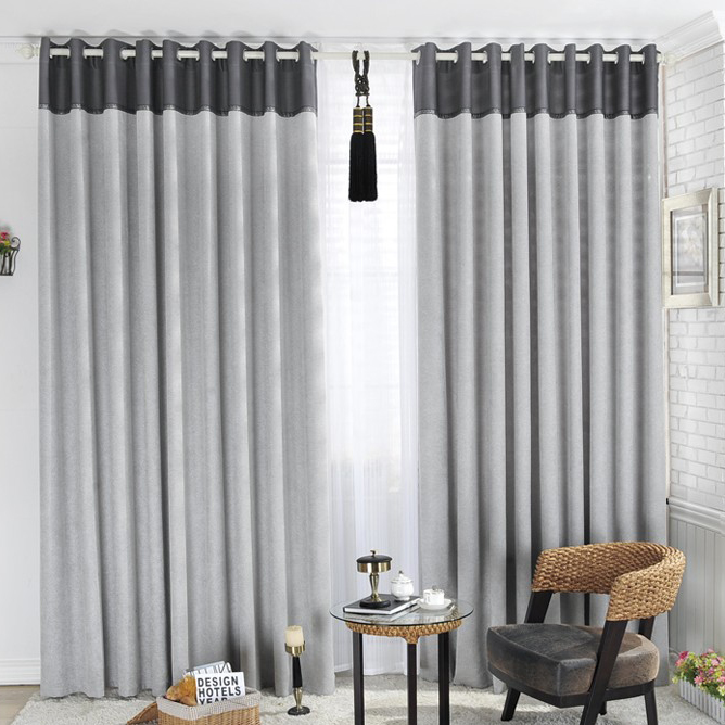 Classic Grey Curtains